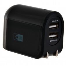 Cargador para pared con 2 entradas USB negro Case Logic