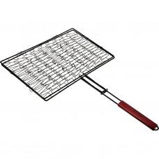 Parrilla para asar flexible acero comado / madera Tablecraft