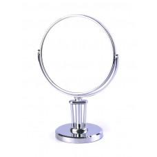 Espejo doble lado aumento 5x pedestal clásico