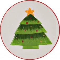 Plato Árbol de Navidad