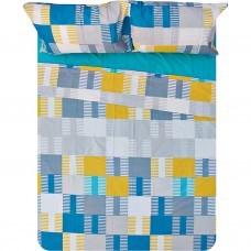 Juego de sábanas Juan Ceramic 150 hilos 100% algodón Saafartex