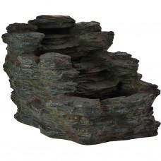 Fuente de agua eléctrica Cascada Tipo Piedra / resina