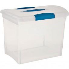 Caja grande con tapa Sterilite