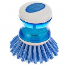Cepillo para lavar con porta jabón plástico