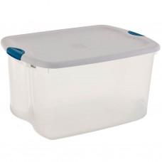Caja organizadora con tapa y seguro 62 L plástico Sterilite
