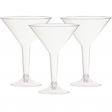 Juego de 3 copas Martini