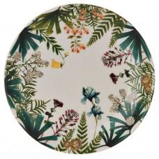 Plato para postre Jungle Corona