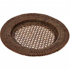Plato base Borde Ancho Rattan 32 cm Haus