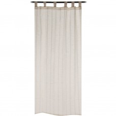 Cortina decorativa 110x220 cm 100% algodón Sólido Haus
