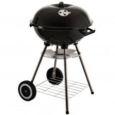 BBQ a carbón con tapa / 2 ruedas acero carbonado