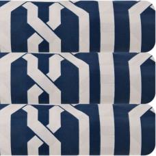 Juego de duvet Cuadros Azul 144 hilos 50% algodón - 50% poliéster Mihos
