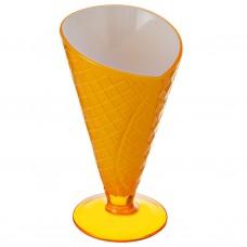 Copa cono para helado acrílico Haus