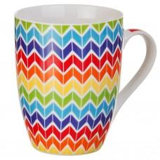 Jarro para café Multicolor Zig Zag 12 onzas
