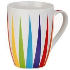 Jarro para café Rayas Multicolor 12 onzas