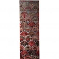 Cuadro Abstracto Naranja 90 x 30 cm