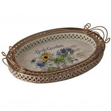 Juego de 3 bandejas decorativas Herb Garden Haus