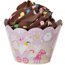 Juego de 25 faldas para cupcake Baby Shower
