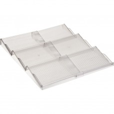 Organizador plástico expandible para cajón Interdesign