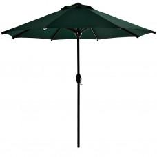 Parasol redondo 2.5 metros acero / aluminio / poliéster