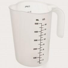Jarra medidora de plástico
