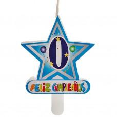 Vela Número 0 Estrella