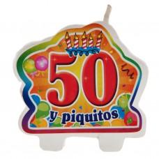 Vela 50 y piquito