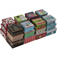 Juego de 3 cajas para regalo Surtido Navidad Lindy Bowman