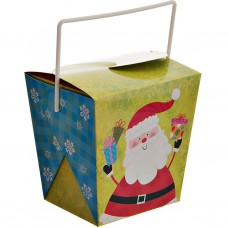 Caja con agarradera para dulces Navidad Surtido Lindy Bowman