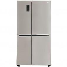 """LG Refrigerador S/S Inverter con panel digital 626L / 22"""" GS65MPP1"""