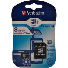 Tarjeta de memoria microSDHC 8GB Verbatim