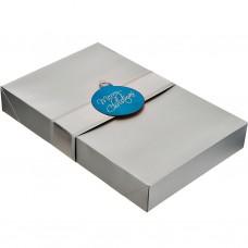 Juego de 2 cajas para regalo Surtido Metalizado Navidad Lindy Bowman