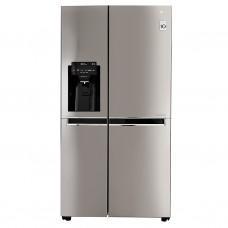 LG Refrigerador Side by Side Inverter con dispensador 601L / 22' Silver GS65SPP1
