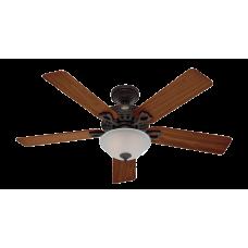 """Ventilador de techo con luz 52"""" 5013 CFM Astoria 53057 Hunter"""