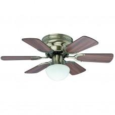 """Ventilador de techo con luz 30"""" 1843 CFM Piccolo Hunter"""