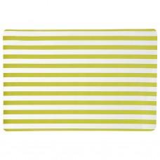 Individual Líneas Verde / Clear 100% polivinilo Novo