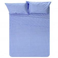 Juego de sábanas Cuadros Gingham 100% algodón Haus