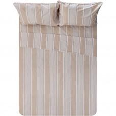 Juego de sábanas Rayas Juvi 100% algodón Haus