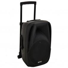 """Parlante para fiesta con batería recargable, USB, Bluetooth y ruedas 12"""" ES-12TOGO Gemini"""