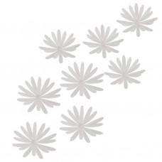 Juego de 8 apliques para pared Flor Delica Umbra