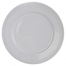 Plato para tendido de cerámica Filo Bolas Blanco Haus