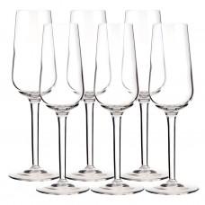 Juego de 6 copas para champagne Eden Bormioli