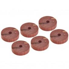 Juego de 6 anillos aromatizantes de cedro para armadores Novo