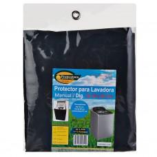 Protector para lavadora manual / digital de 38 a 46 lbs azul