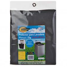 Protector para lavadora manual / digital de 38 a 46 lbs gris