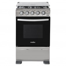 """Cocina a gas con encendido eléctrico 4 quemadores 24"""" TX5120EX1 Mabe"""