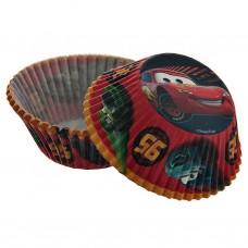 Juego de 50 pirutines de papel Cars 5 cm Wilton