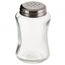 Dispensador para queso vidrio / acero inoxidable Haus
