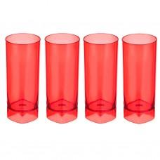 Juego de 4 vasos shot Rojo
