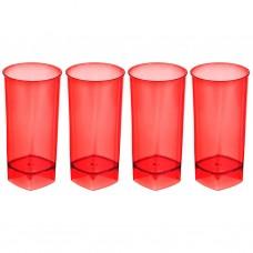Juego de 4 vasos grandes